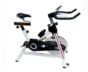 sepeda statis spinning bike putih msp-1012