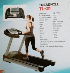 komersial treadmill elektrik tl21