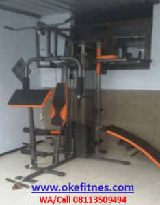 Alat Gym Home Gym 3 Sisi Body Building