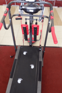 Alat Fitnes Treadmill Manual 6 Fungsi TL004