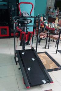 Alat Fitnes Treadmill Manual 6 Fungsi TL004 Grobogan-Jawa Tengah