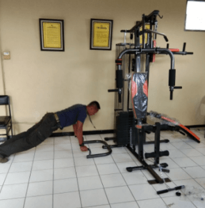 Alat Fitnes Body Building Homegym 3 Sisi