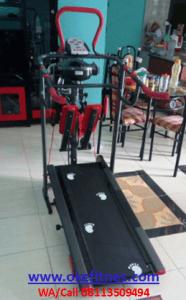 Alat Olahraga Lari Treadmill Manual 6 Fungsi TL004