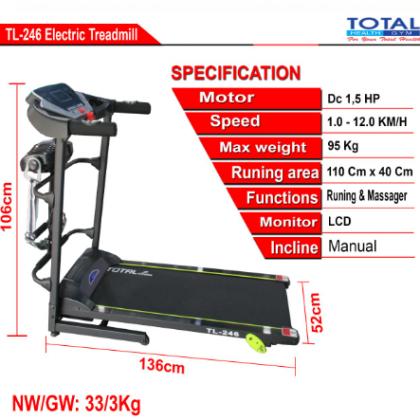 TL246-Treadmill-Listrik